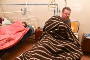 У пострадавшего 46-летнего одессита Владимира Турицы – двойной перелом ноги, ему провели операцию. Фото: Максим Войтенко