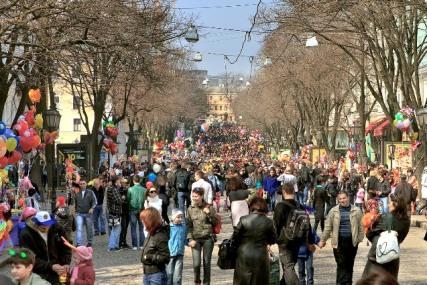 Саша Боровик увеличил количество одесситов в полтора раза «фото»
