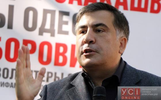 Саакашвили: выборы фальсифицировались по технологиям времен Оранжевой революции «фото»