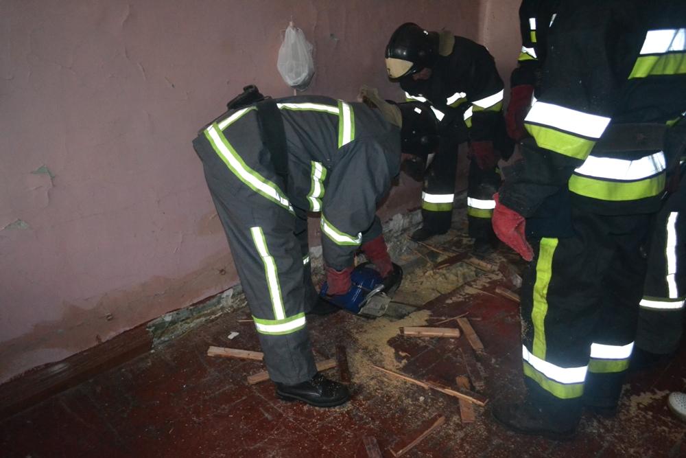 В Еврейской больнице горело подполье «фото»