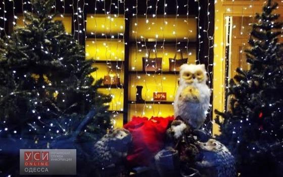Чья витрина самая новогодняя? «фото»