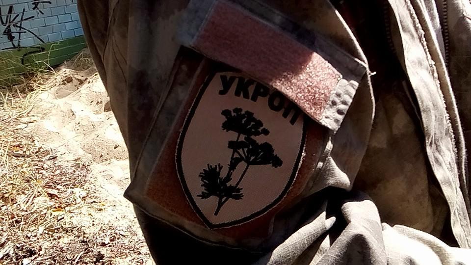 Лагерь «Укроп» готов уступить военным землю, но только «когда кто-то сядет» «фото»
