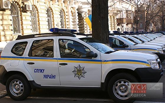 Лорткипанидзе передал новые автомобили полицейским отделам Одессы и области «фото»