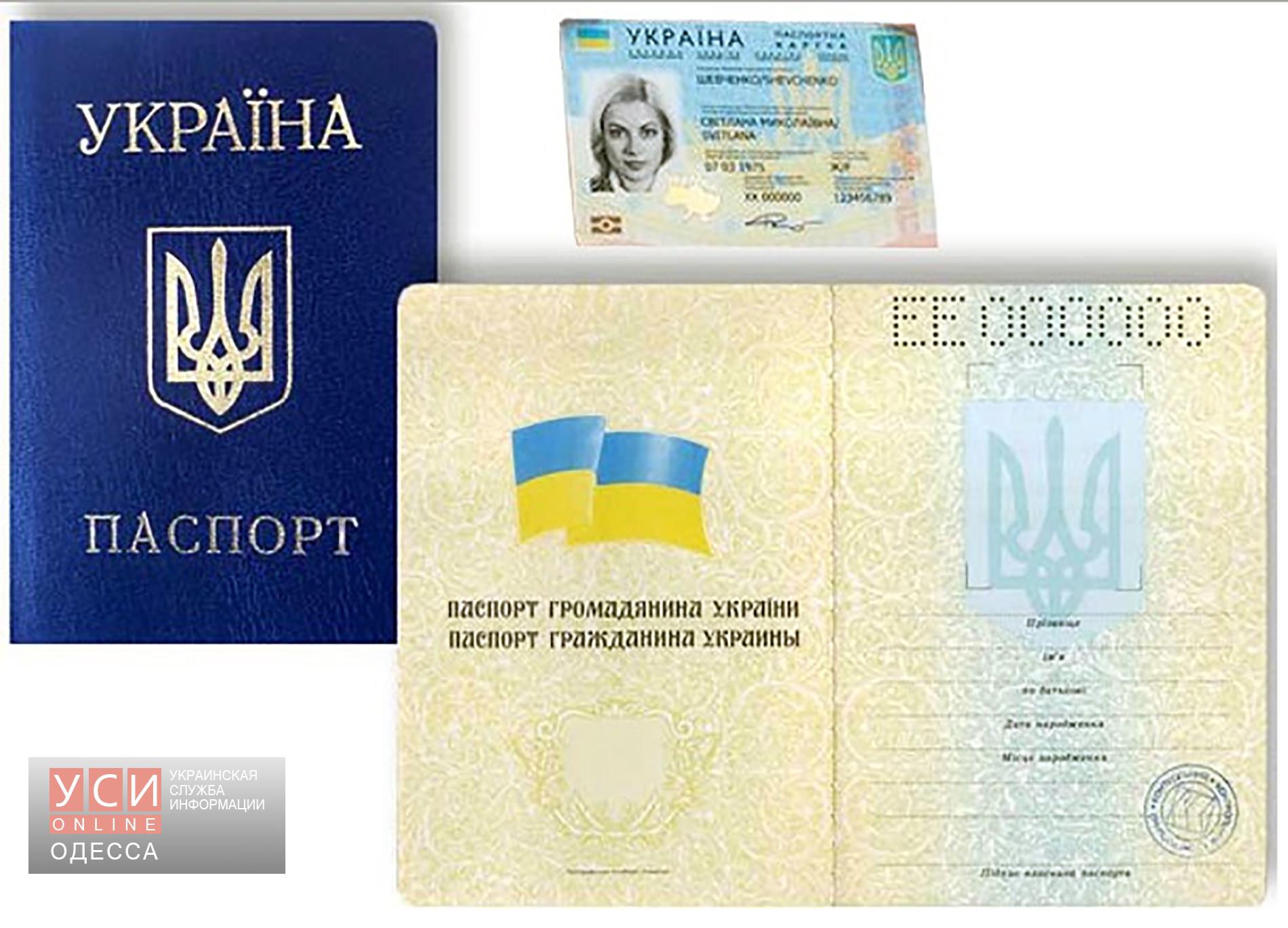 Скан паспорта украины своими руками