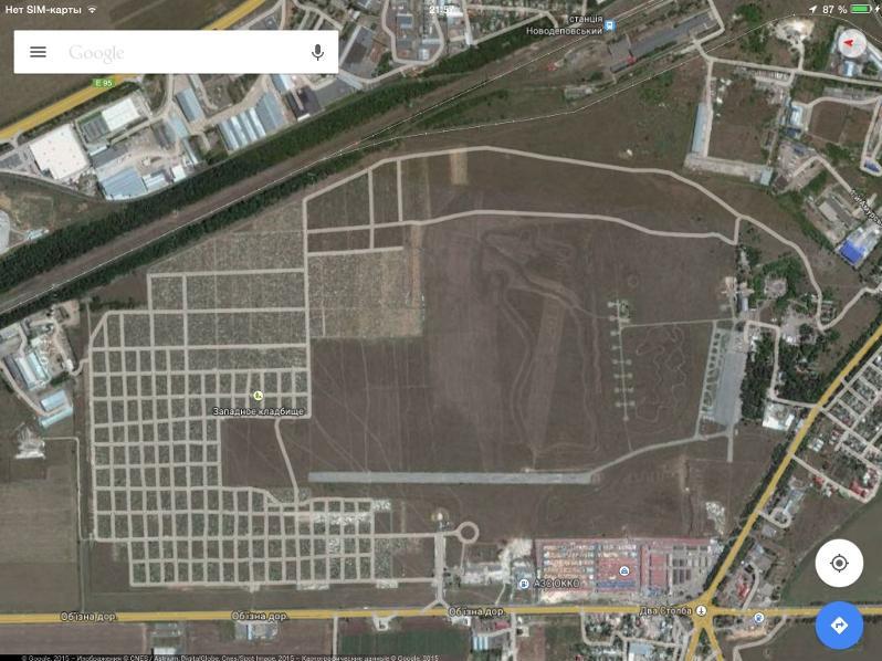 Кладбище «Западное» продолжает захватывать одесскую «взлётку»