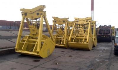 Ильичевский порт продемонстрировал новые грейферы (фото) «фото»