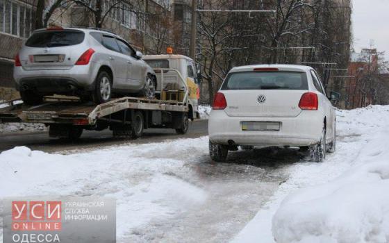 Одесская полиция сегодня будет «зачищать» от автомобилей улицу Троицкую «фото»
