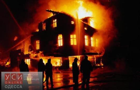 Трагедия в Измаиле: пожар унес жизни двух человек «фото»