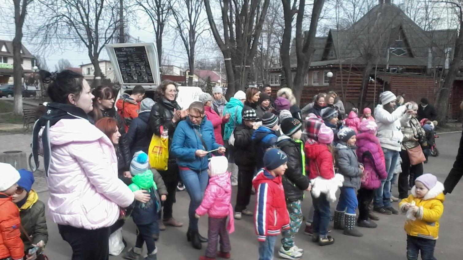 Детский праздник создал на Таирова ажиотаж (фото) «фото»