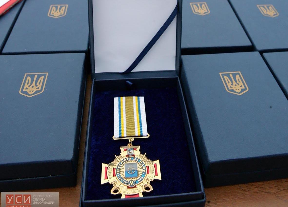 Сегодня награждали вернувшихся из АТО бойцов батальона «Шторм» (фото) «фото»