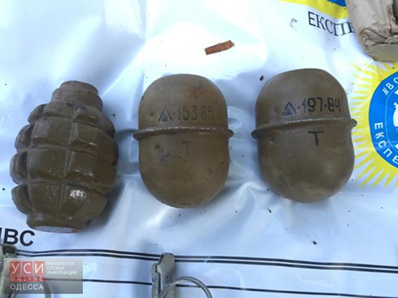 В одесском парке обнаружили тайник с боеприпасами (фото) «фото»