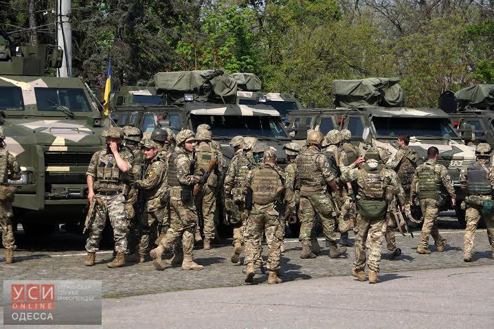 Одесса готовится ко 2 мая: Куликово поле бороздит военная техника (фото) «фото»