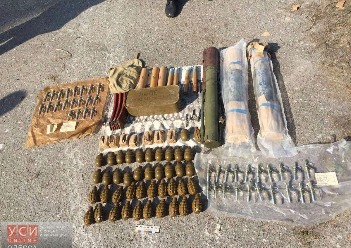 СБУ нашла под Одессой еще один арсенал взрывчатки и боеприпасов (фото) «фото»