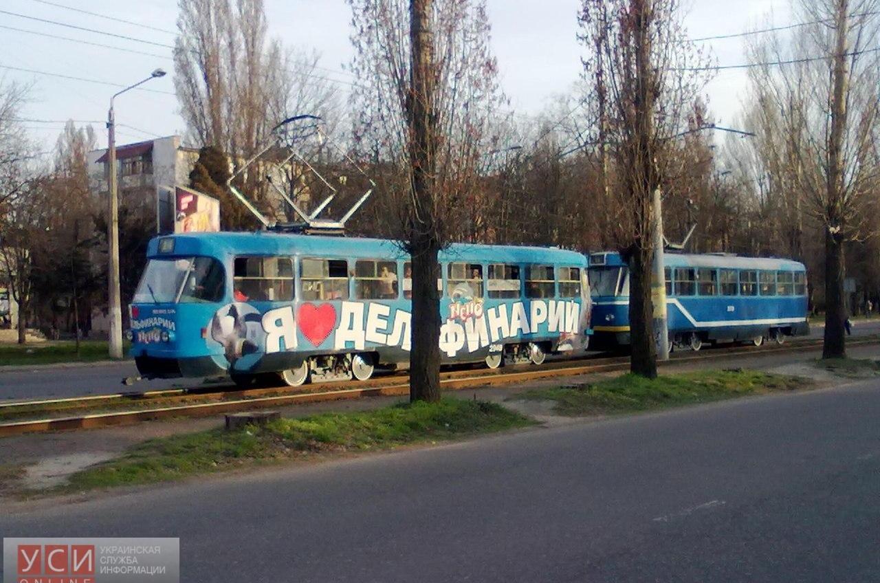 У одесских трамваев — «сезон спаривания» (фото) «фото»