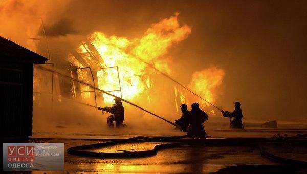 В Одесской области на месте пожара спасатели обнаружили труп «фото»