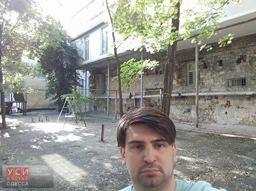 Под огромным балконом главного архитектора Одессы может появиться «антиархитекторский майдан» «фото»