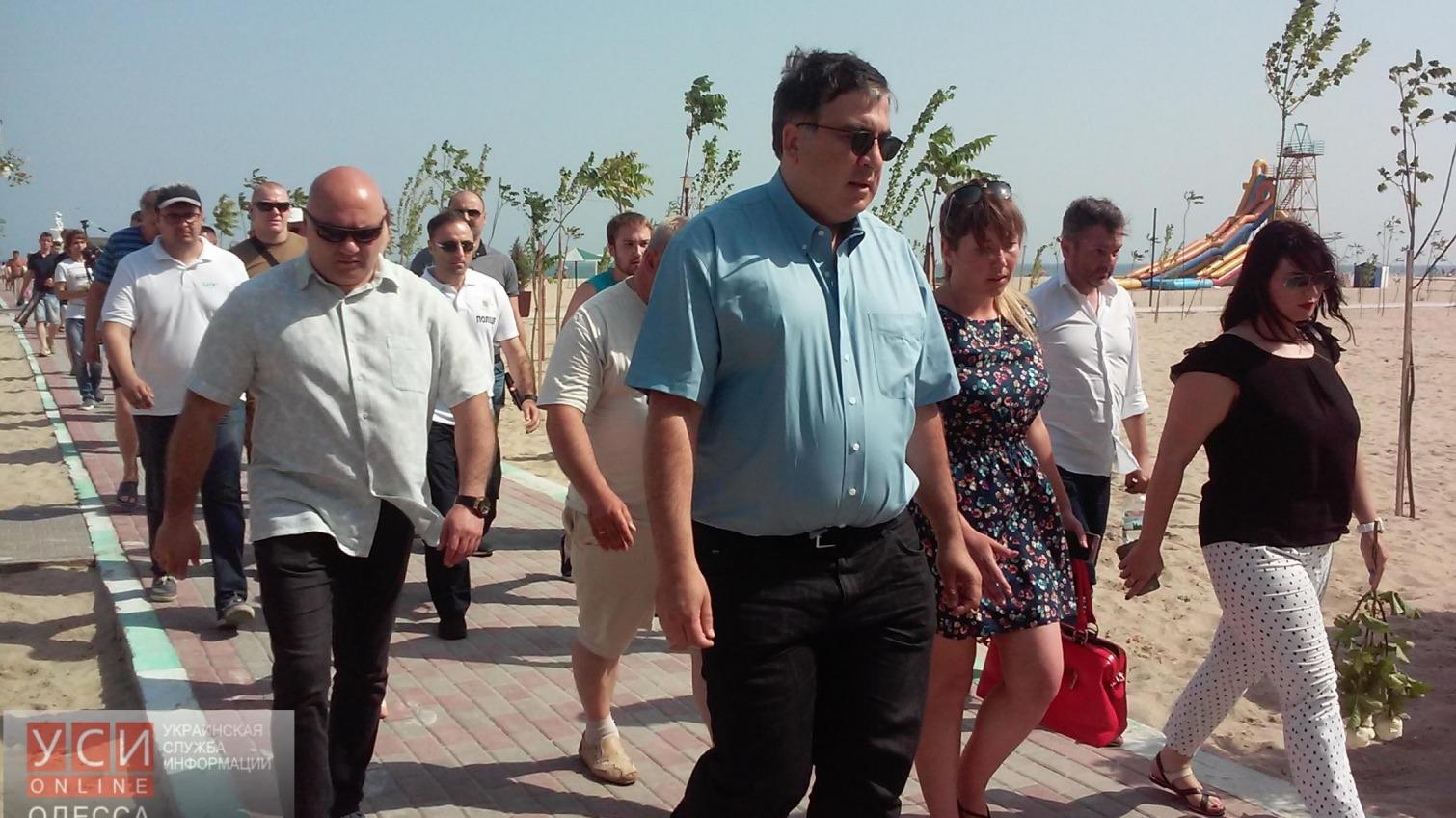 Михеил Саакашвили проверил базу «Надзбруччя», где неделю назад утонули четверо людей «фото»