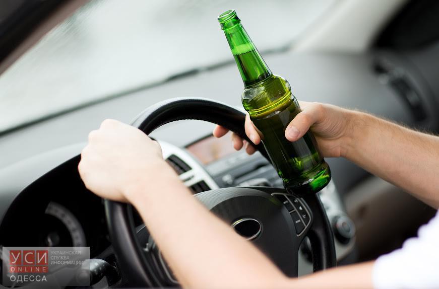 В Одессе увеличилось количество пьяных за рулем «фото»