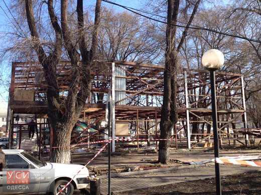 Одесситы снова перекрыли дорогу на Старосенной площади «фото»