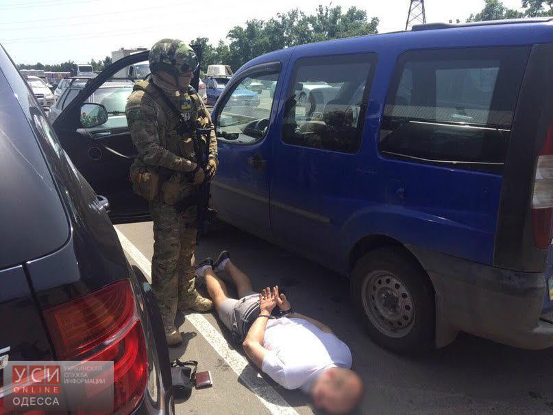 В Одессе задержали торговца огнестрельным оружием и наркотиками (фото) «фото»