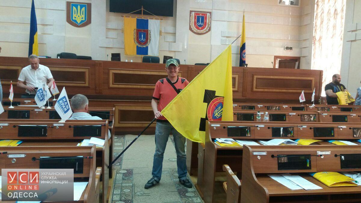 Нацполиция проводит расследование по факту беспорядков на сессии Одесского облсовета (фото) «фото»