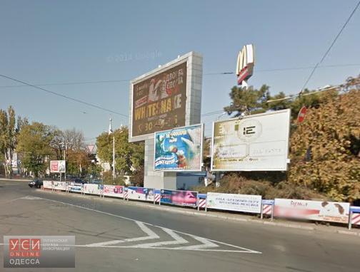 В Одесской мэрии демонтаж рекламной конструкции оценили почти в 150 тысяч гривен «фото»