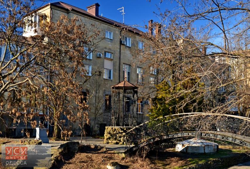 В центре города уголок «Старая Одесса» пришел в упадок «фото»