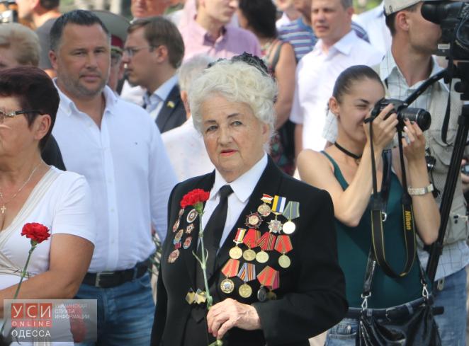 В Одессе почтили память погибших воВторой мировой войне (фото) «фото»
