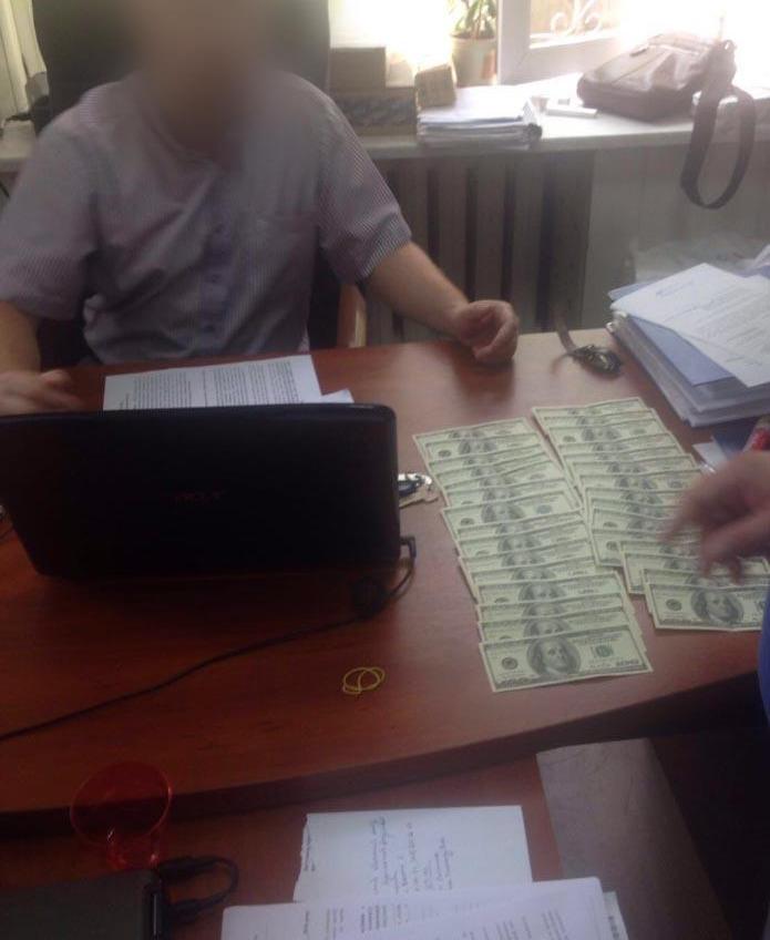 Главный следователь финансовых преступлений в Одессе попался на взятке «фото»