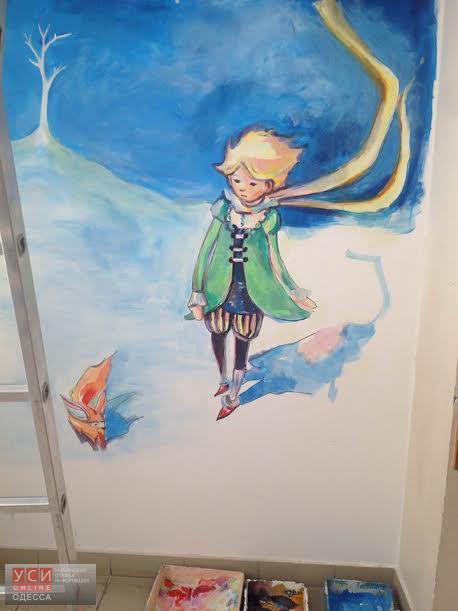 В одесской поликлинике поселился Маленький принц (фото) «фото»