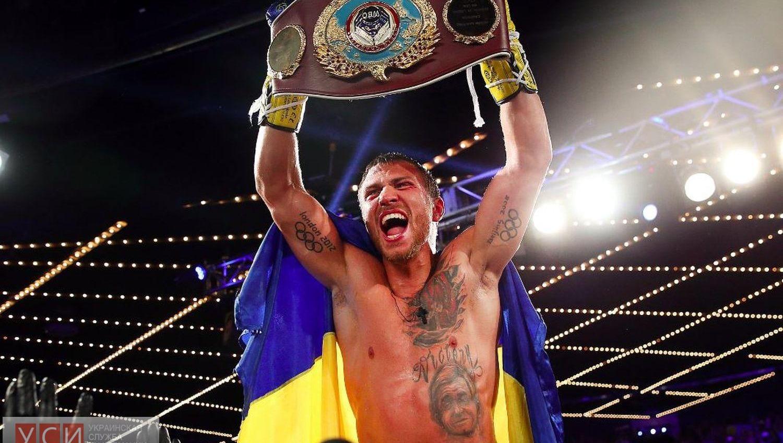 Ломаченко вошел в десятку лучших боксеров мира «фото»