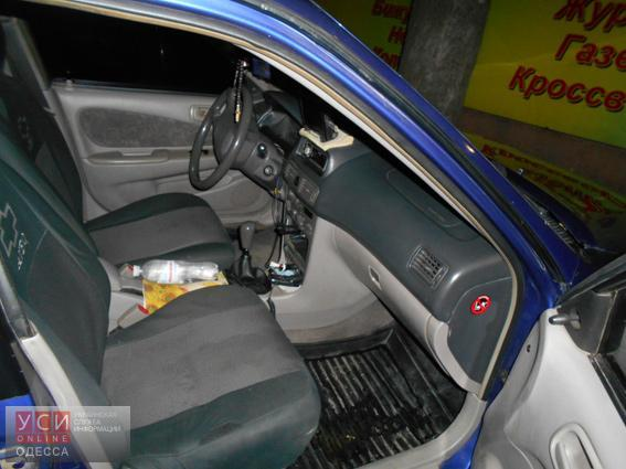 В Измаиле пассажир такси забыл в машине пистолет «фото»