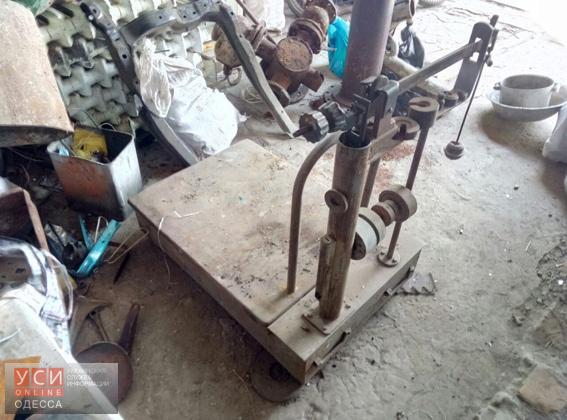Измаильчанин занимался незаконным приемом металлолома в своем частном доме (фото) «фото»