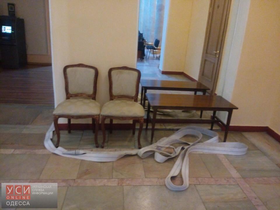 ВОдессе активист «антитрухановского майдана» ударил полицейского