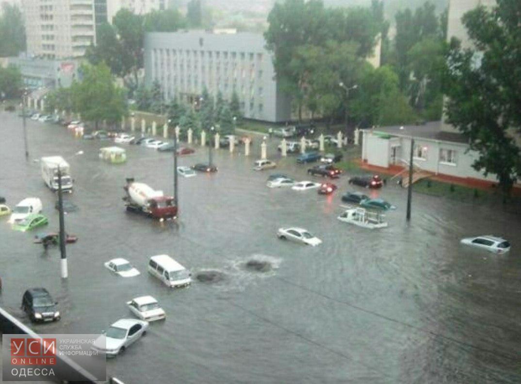Потоп вОдессе: засутки выпало практически три месячных нормы осадков