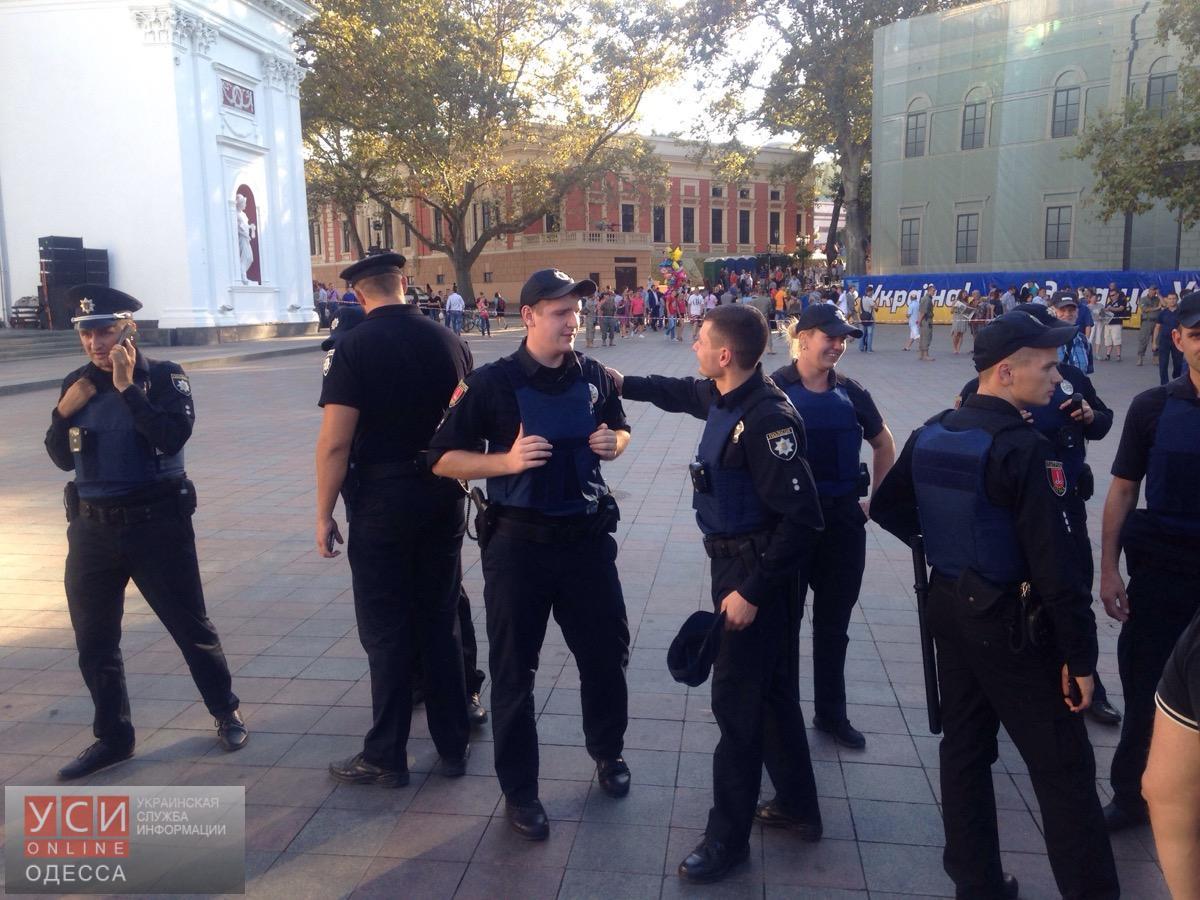 ВОдессе произошла драка между противниками главы города, его охраной иполицией
