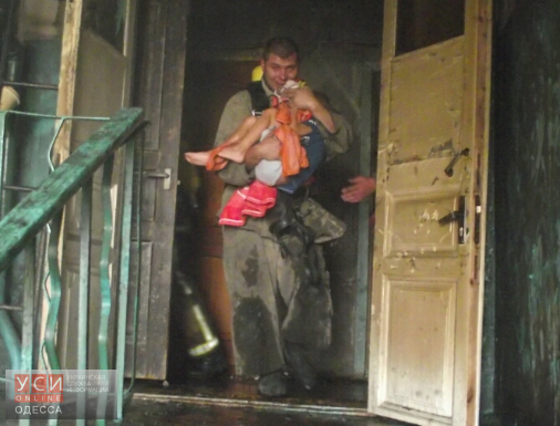 Четверо детей отравились дымом впроцессе пожара под Одессой