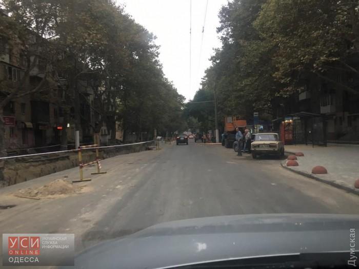 В Одессе открыли для проезда Сегедскую на время стихии «фото»