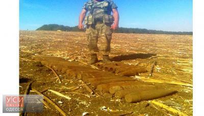 В Одесской области нашли склад боеприпасов (фото) «фото»