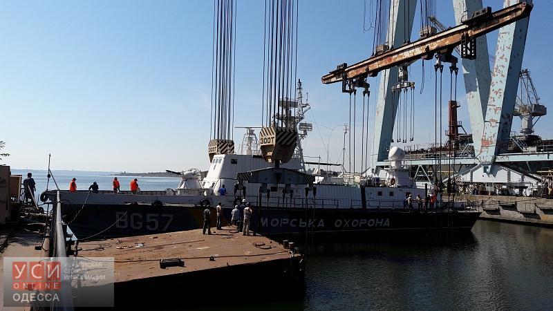 Катер одесского отряда Морской охраны отремонтировали в Николаеве (фото) «фото»