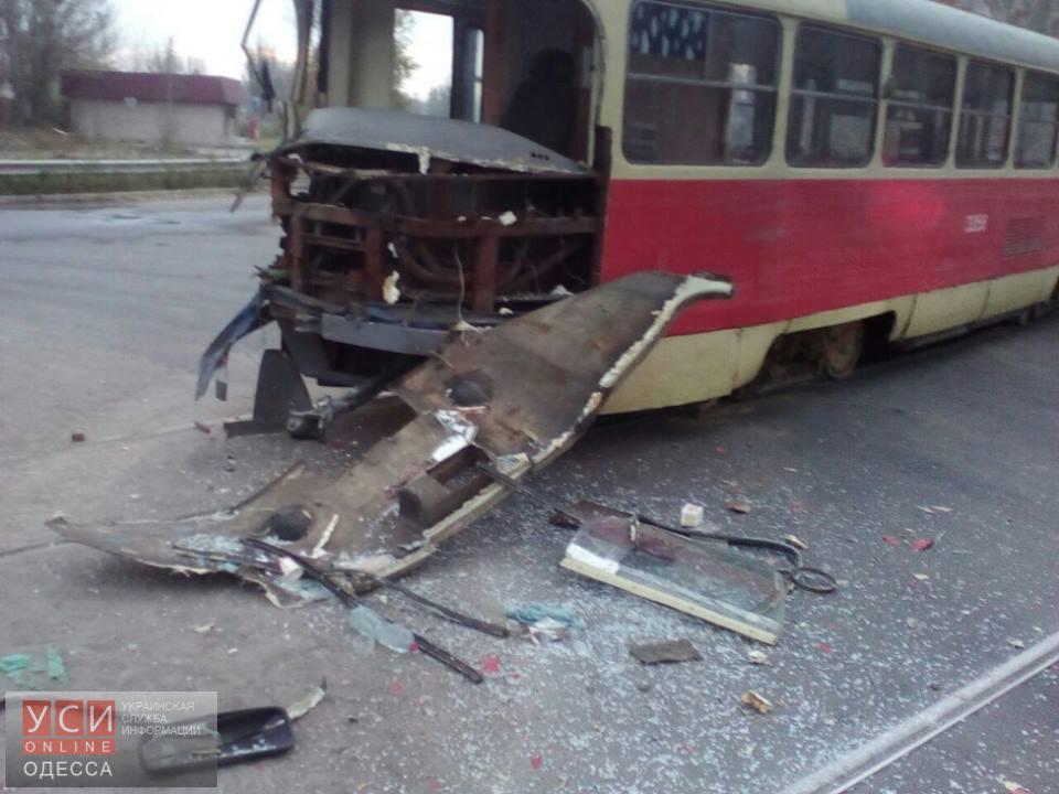 ВОдессе столкнулись трамвай ифура— Встретились два одиночества