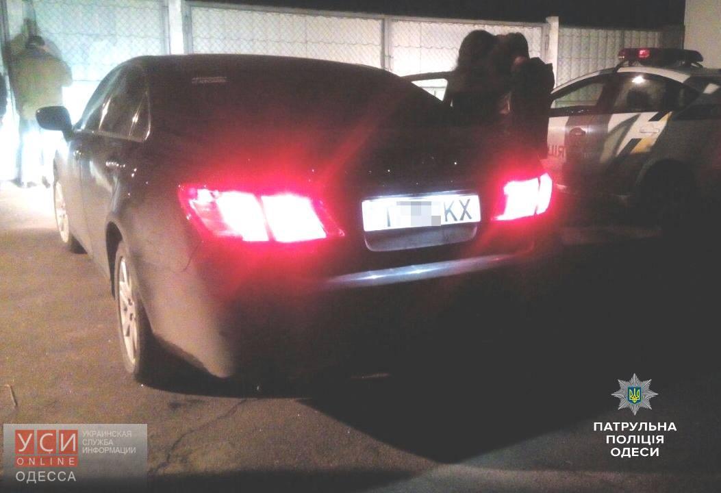 ВОдессе патрульные задержали пьяную женщину-водителя