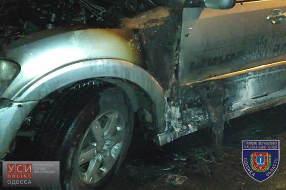 Неизвестные подожгли автомобиль лидера «автомайдана» вОдессе