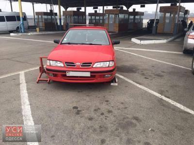 В Одесской области задержали авто, угнанное из Нидерландов