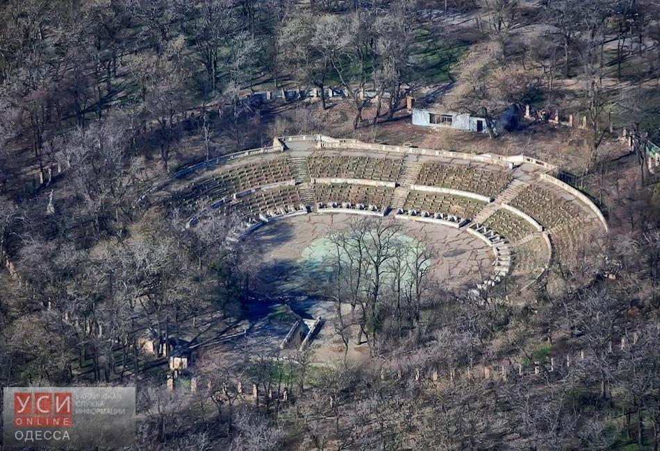На месте «Зеленого театра» в парке Шевченко может появиться высотка, — источник «фото»