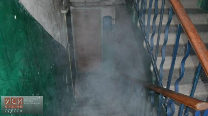 ВОдессе впожаре вдесятиэтажке найден труп