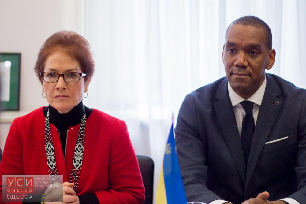 Визит посла США в Одессу: итоги