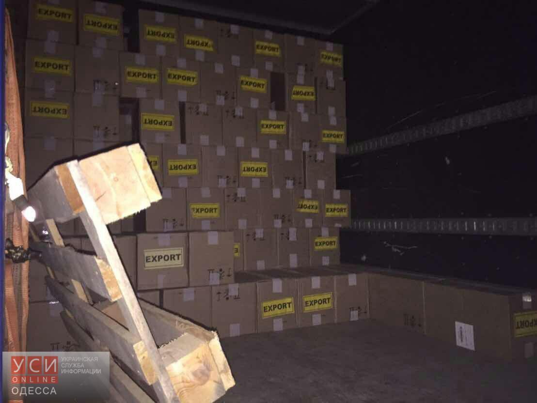 СБУ задержала колонну машин сконтрабандой натрассе Одесса-Киев