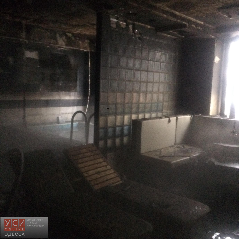 ВОдессе впятиэтажном жилом доме горела сауна вфитнес-центре