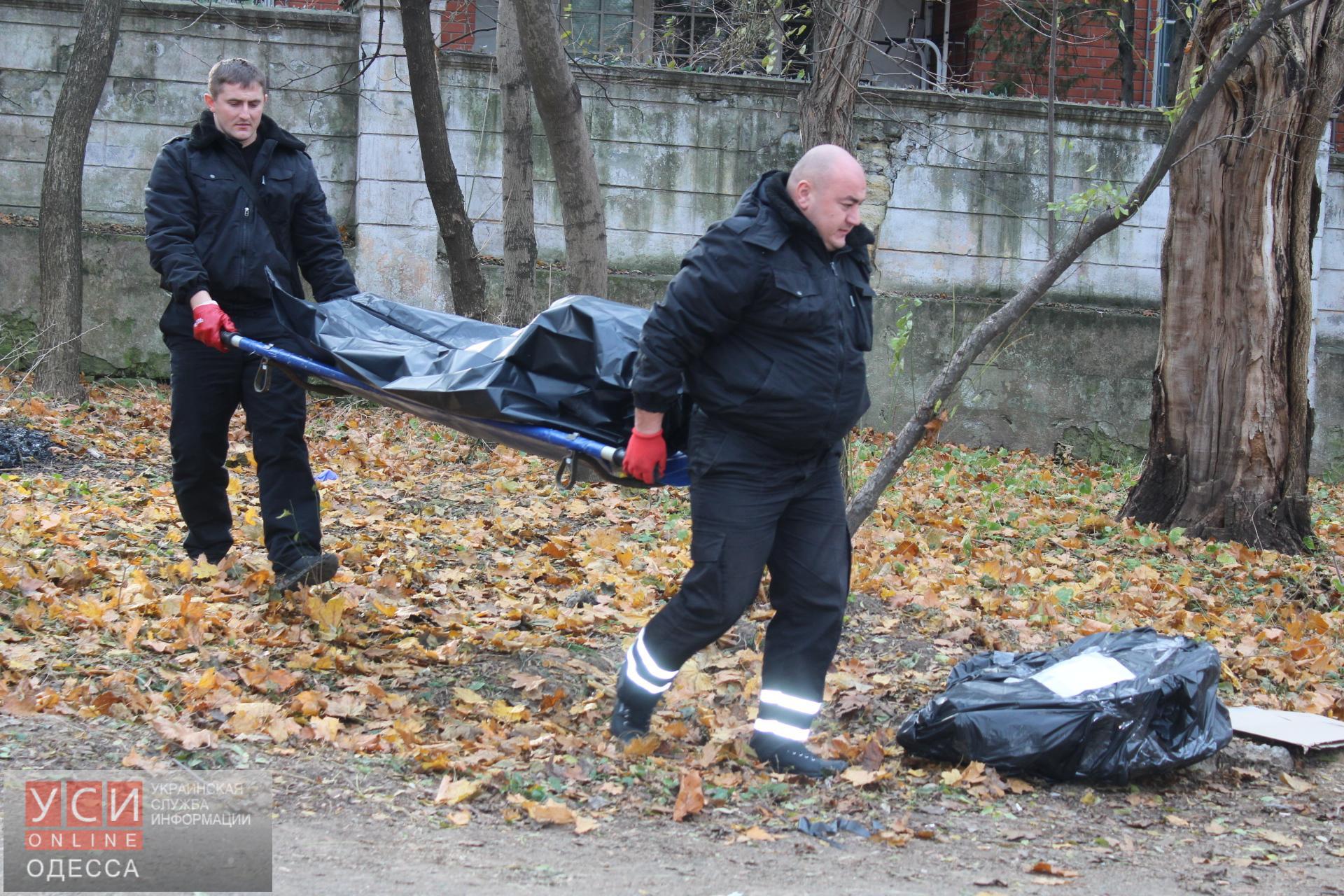ВОдессе найден обгоревший труп винвалидной коляске